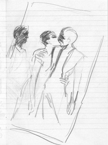 Zeichnung Bettina Munk
