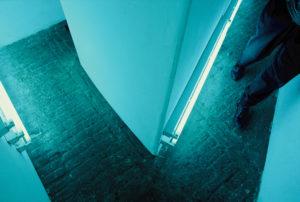 Gang zwischen zweiter und dritter Tür