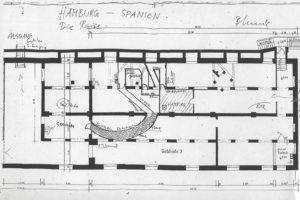 Grundriss Installation Hamburg Spanien - die Reise