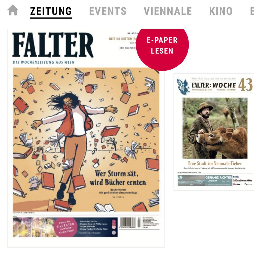 Der Falter Wien Rezension T Edlinger