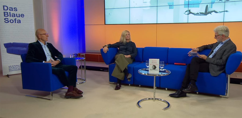 ZDF blaues Sofa Buchmesse 2020 14. Oktober