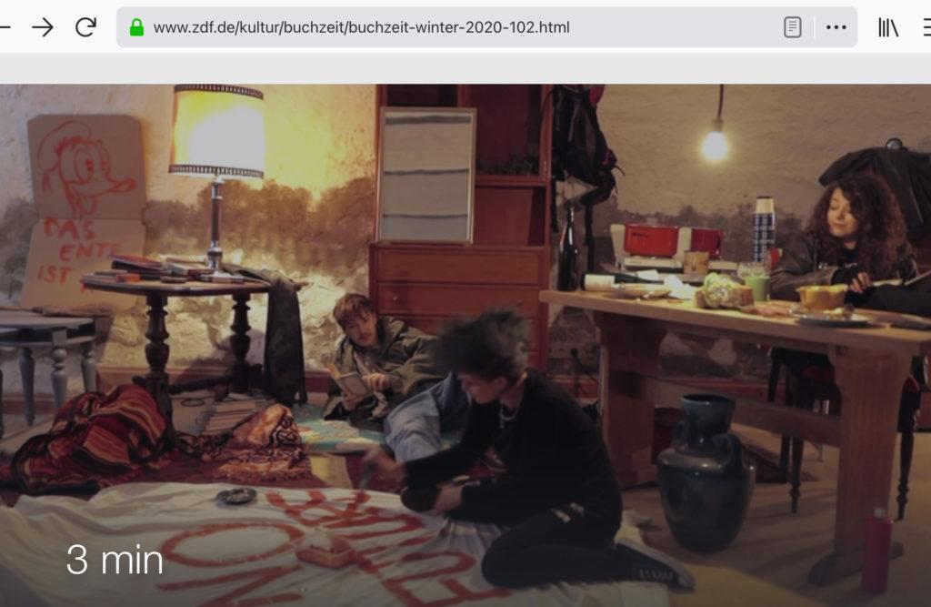 Buchzeit ZDF 13.12.2020
